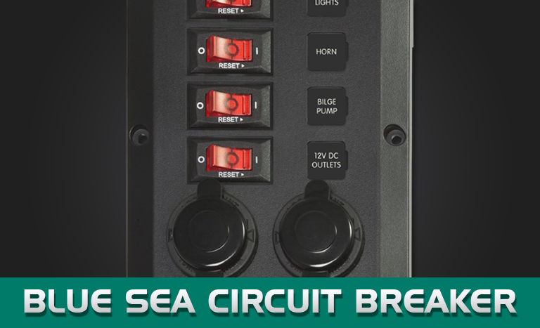 "Blue Sea ""BelowDeck"" Circuit Breaker Panels"