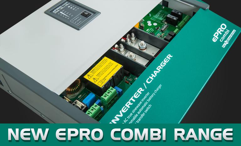 The New Enerdrive ePRO Combi Inverter Charger Range