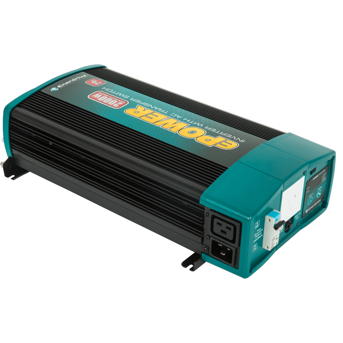 New EPOWER Inverter With AC Transfer & Safety Switch