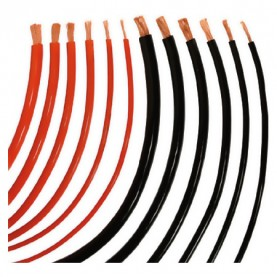 Different sized cables.