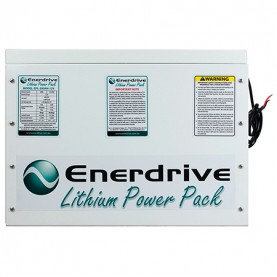 200Ah Compact Lithium Battery Front