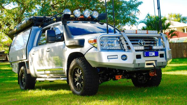 200 Series Landcrusier Off-Road Lithium Powered Beast