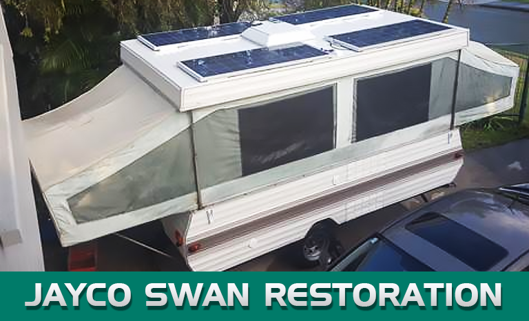 When the Powering up of my 1983 Jayco Swan cost more than the van did