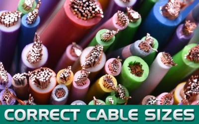 Cable Sizes: Choosing the right one for a DC Circuit