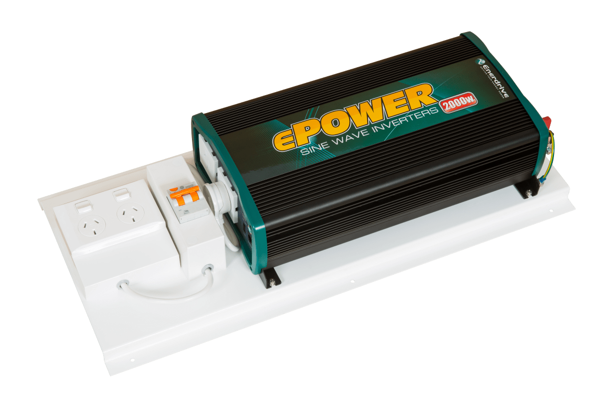 Higher Capacity Battery Bank To Power Higher Voltage Loads