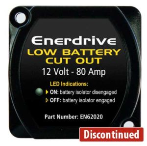 12V-80A Low Battery Cut Out