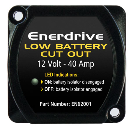 12V-40A Low Battery Cut Out