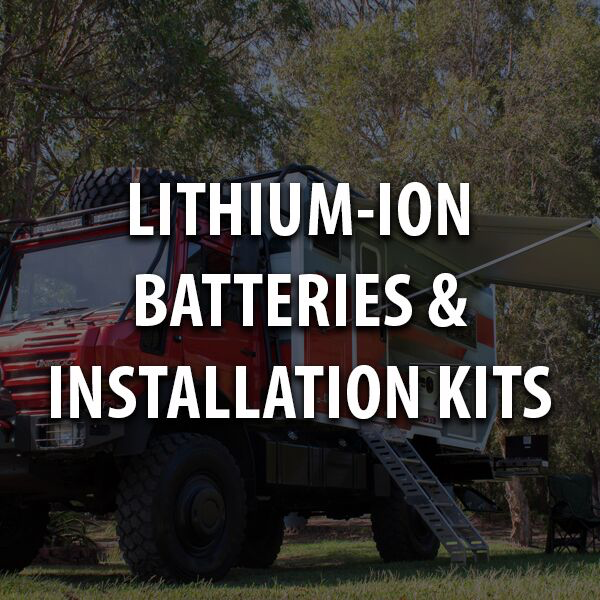 Lithium-Ion Batteries & Installation Kits