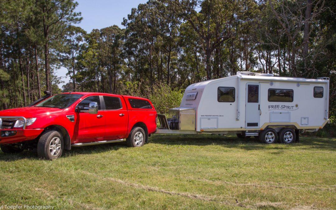 Free Spirit Caravan Up Spec'd with Lithium