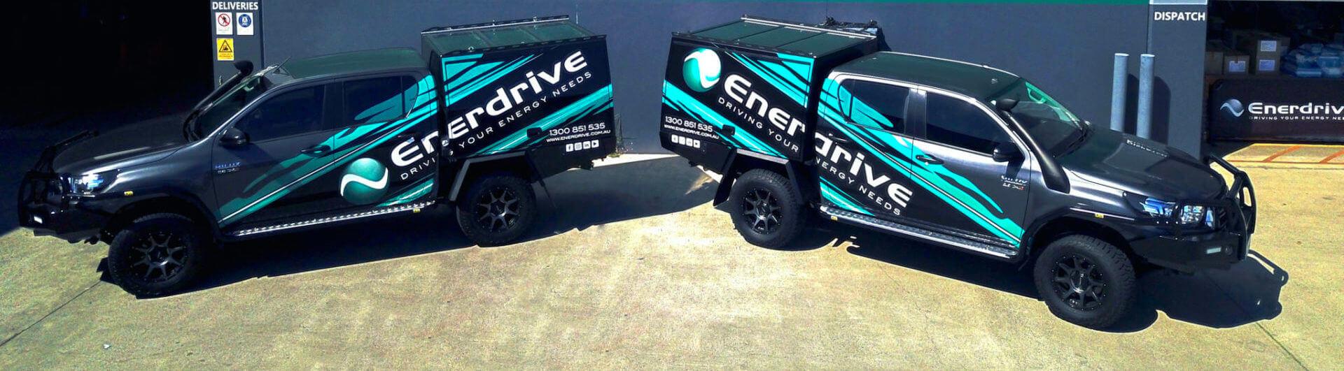 photo of Enerdrive Branded Vehicles