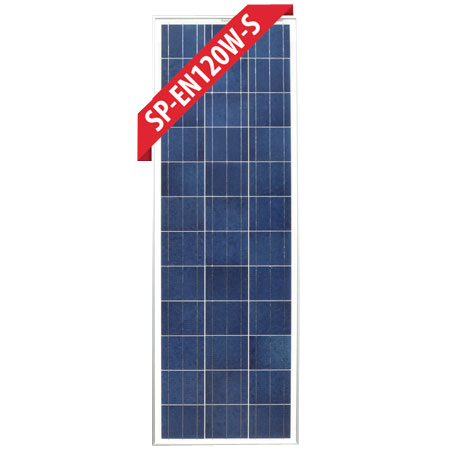 120w Slim Fixed Poly Solar Panel Enerdrive Independent Power Solutions