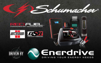 Schumacher Electric, driven by Enerdrive