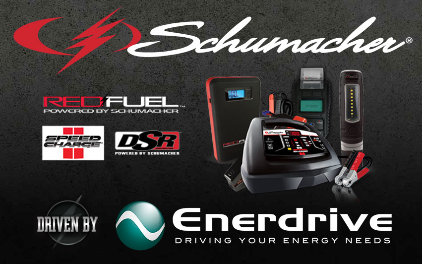 Schumacher Electric, driven by Enerdrive
