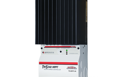 Morningstar's New 30 Amp TriStar MPPT Charge Controller