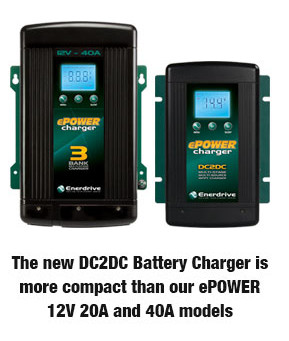 DC to DC Battery Charger by Enerdrive